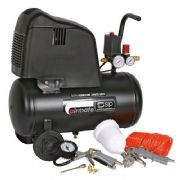 SIP 245/25 Air Compressor & Free 7pc Kit